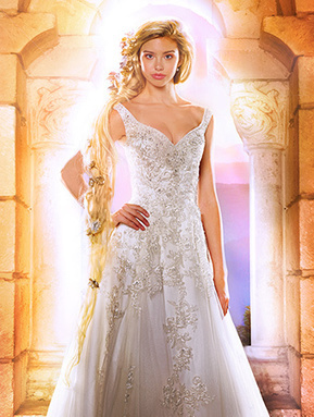 10 Disney-Inspired Wedding Gowns from Alfred Angelo | Wedding Inspiration | Scoop.it