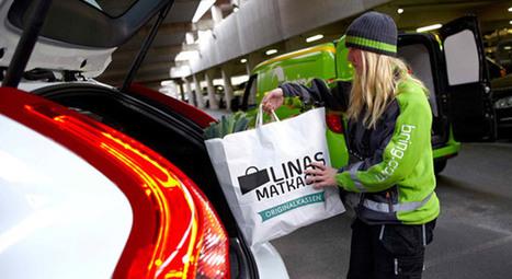 Rivoluzione Volvo: se acquisti on line con la chiave elettronica ti ritrovi la spesa in auto | Prospettive tecno-umane | Scoop.it