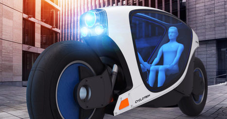 Get to Know Each Other Aboard This Self-Driving Motorcycle   Post-Sapiens, les êtres technologiques   Scoop.it