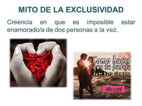 MITO DE LA EXCLUSIVIDAD | LOS MITOS DEL AMOR ROMÁNTICO | Scoop.it