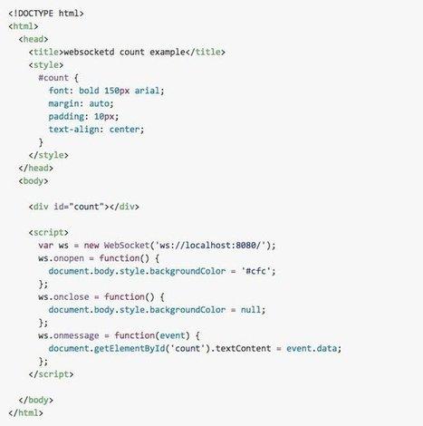 WebSocketd - Faites communiquer vos pages web avec vos outils en ligne de commande - Korben | DEVOPS | Scoop.it