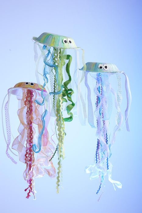 How to Make Your Own Jellyfish | I Scrap, U Scrap | Recursos para el aula en Primaria | Scoop.it