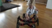 Watch This: Toddler vs. Hexapod | Geek and Gamer Stuff | Scoop.it