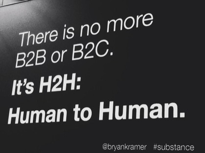 There Is Only Human to Human | Social Media Today | Digital Marketing | Scoop.it