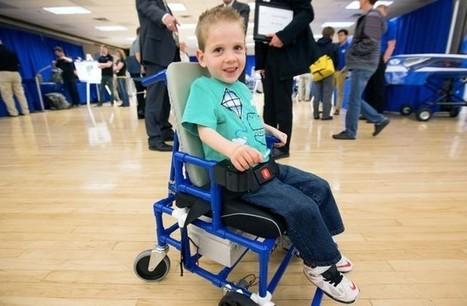 Un grupo de estudiantes crea una silla de ruedas eléctrica barata y perfecta para niños | Salud Publica | Scoop.it