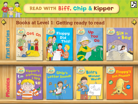 The Biff, Chip and Kipper Interactive iPad Apps at Tettenhall College | iPads in K-6 | Scoop.it