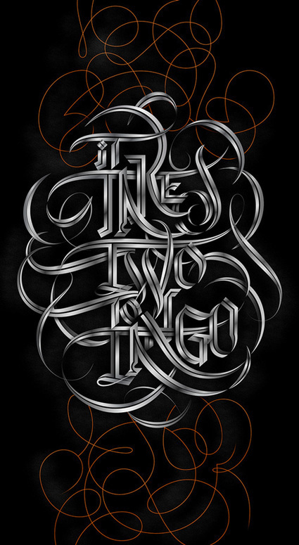 26 Remarkable Typography Designs for Inspiration | Inspired By Design | Scoop.it