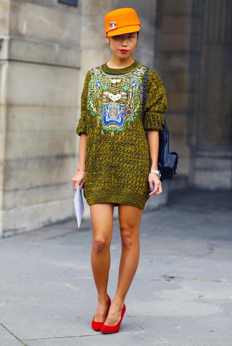 Oksana On, Kenzo + Chanel | Stylish Fashion | Scoop.it