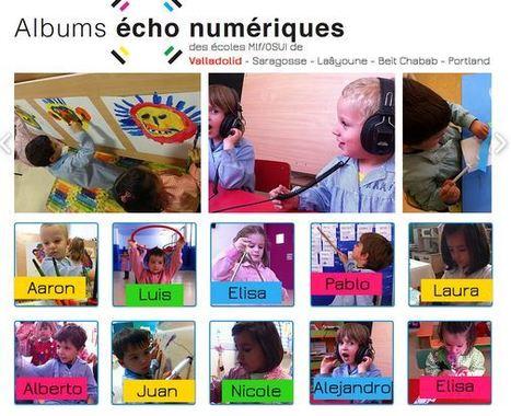 Usages de la tablette. Créer des albums-écho numériques en maternelle   Vie numérique  à l'école - Académie Orléans-Tours   Scoop.it