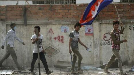 Cambodian police shoot garment workers demanding $7 a day to make your T-shirt | Khmer | Scoop.it