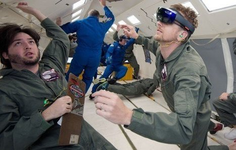NASA to use Microsoft's HoloLens in spaceHypergrid Business | Technologie Éducative | Scoop.it