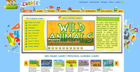 Cookie ™ | Learning Games for Kids | 21st Century Technology Integration | Scoop.it