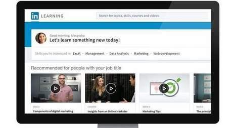 'LinkedIn Learning', la plataforma enfocada a la formación de los usuarios - elEconomista.es | Formación, tecnología y sociedad | Scoop.it