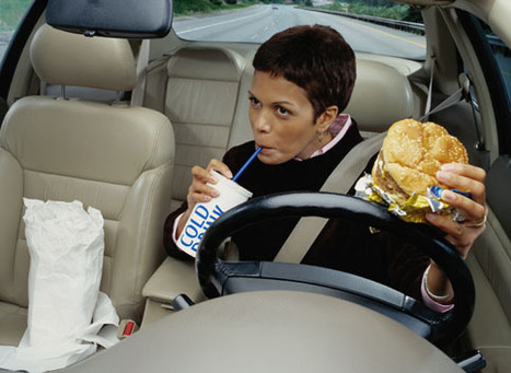 Eating While Driving Auto Accidents | Senior Project | Scoop.it