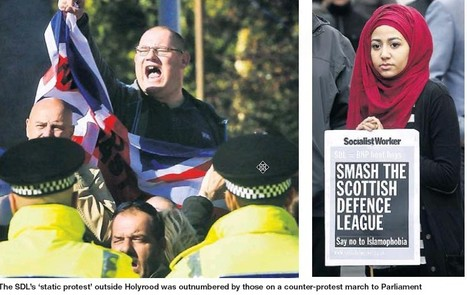 Scotland and Islam   SDL outnumbered by UAF in Edinburgh     YES for an Independent Scotland   Scoop.it