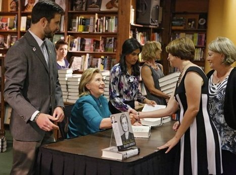 No one is reading Hillary Clinton's new book: Sales tumble by more than 40 ... - Washington Examiner   book reviews   Scoop.it