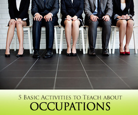Great Work: 5 Basic Activities to Teach about Occupations | others | Scoop.it