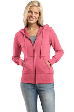 District Threads Hoodie - Buy Wholesale Junior Ladies Full-Zip Hoodie | Fantastic style of black vest top | Scoop.it