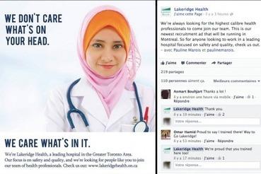Un hôpital ontarien se sert de la Charte des valeurs pour recruter | National | Autre | Scoop.it