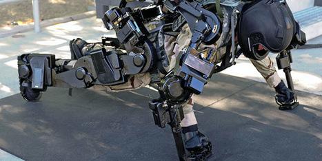Le fabricant d'exosquelettes Sarcos lève 10 millions de dollars | Vous avez dit Innovation ? | Scoop.it