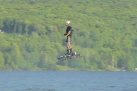 Working Hoverboard Sets New World Record | Technology in Art And Education | Scoop.it