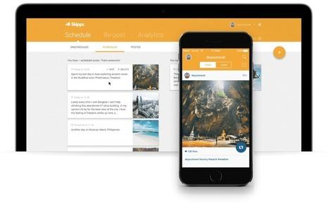 Skippr. Puissant outil marketing pour Instagram   Les outils de la veille   Les outils du Web 2.0   Scoop.it