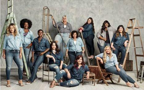 Body-Positive Denim Ads : plus size denim | Jeans Fashion | Scoop.it