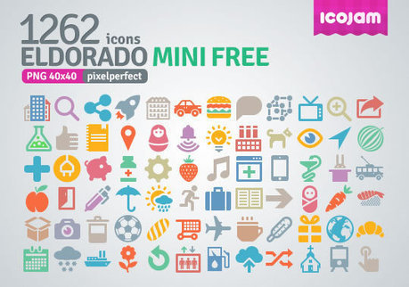 8 Beautiful and Free Flat Icon Sets | Freebies | asdf | Scoop.it