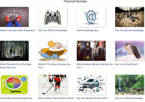 Online Quizzes - ProProfs | Modersmål | Scoop.it