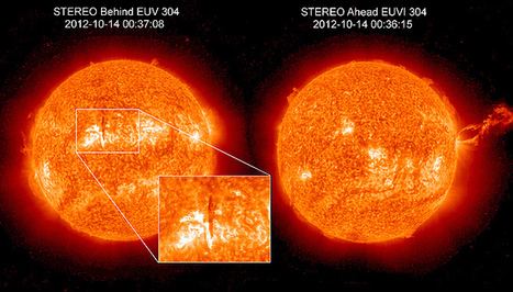 NASA Sees Entire Sun, SDO Gives 360 Degree View | Space | Democritus | Scoop.it