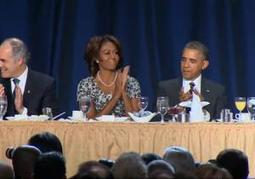 The Obamas show their spiritual side at the National Prayer Breakfast | AUSTERITY & OPPRESSION SUPPORTERS  VS THE PROGRESSION Of The REST OF US | Scoop.it
