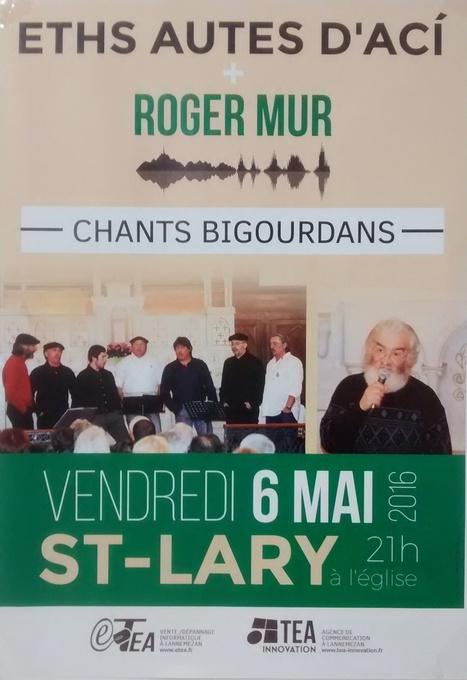 Chants bigourdans à Saint-Lary le 6 mai   Vallée d'Aure - Pyrénées   Scoop.it