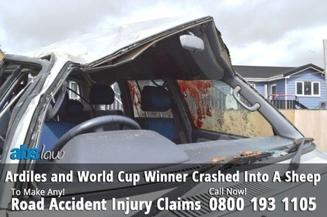 Ardiles and World Cup Winner Crashed Into A Sheep & Suffer with Serious Injury | Official Blog of ABS Law | Traffic Accident Claim UK | Scoop.it