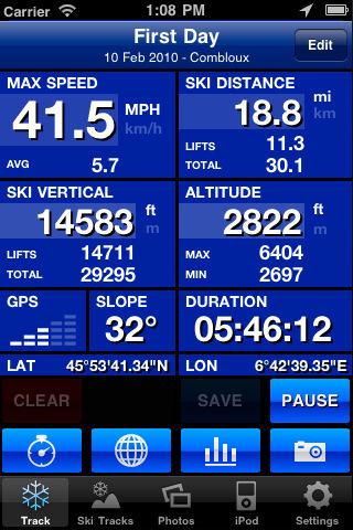Ski Tracks: Best App ever for Freeride Skiers | Freeride skiing | Scoop.it