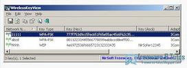 WirelessKeyView : un logiciel portable pour récupérer vos clés Wifi | Trucs et bitonios hors sujet...ou presque | Scoop.it