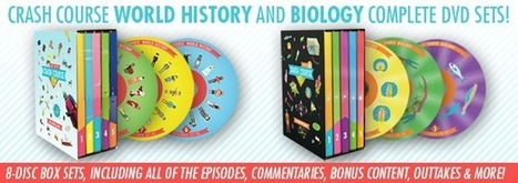 DFTBA Records :: CrashCourse World History: The Complete Series DVD Set | Historia del Mundo | Scoop.it