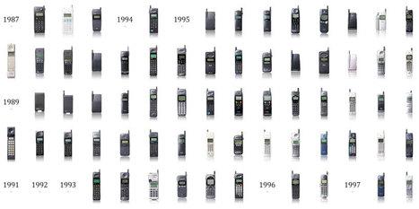 evolution of the mobile phone by docomo | designboom | fashion, design, designer, trend | Scoop.it
