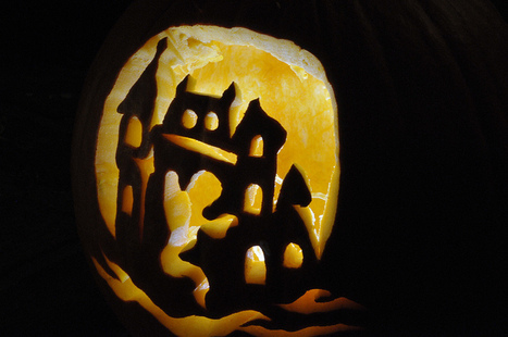 Ghost Castle Pumpkin | Flickr | Halloween | Scoop.it