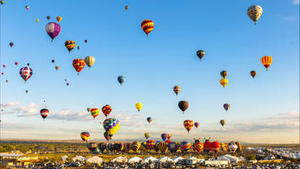 Colorful Time-Lapse of Hot Air Balloons in New Mexico   Just Good   Scoop.it