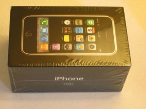 "Original Iphone 1 in ""mint"" condition stil in original packaging. this might be a collectors item even though the internet don't seem to buy it 