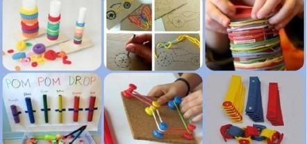 Nueva colección con más de 25 juegos y actividades para estimular y trabajar la motricidad infantil | Recull diari | Scoop.it