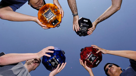 Floating robotic spheres will be used to play games in space next year | Heron | Scoop.it