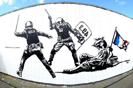 Tag sur la fresque Goin de Grenoble : le paradoxe de l'inversion artistique | Histoire culturelle | Scoop.it