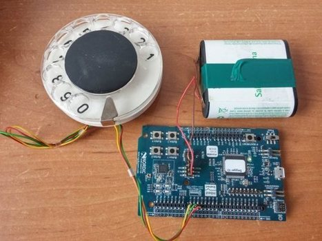 Dial Like a Hipster: Make a Bluetooth Rotary Dial | Raspberry Pi | Scoop.it