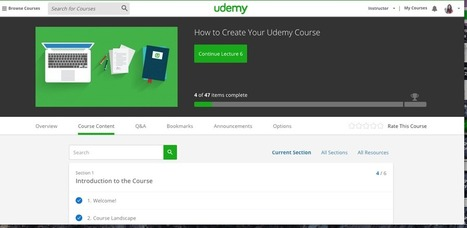 Udemy has redesigned its entire platform | elearning stuff | Scoop.it