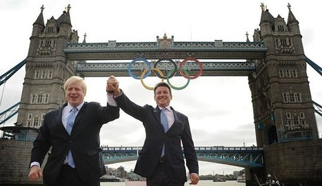 Olympic City: Rings added to Tower Bridge to mark one month to London 2012 | Fran Jurga: Equestrian Sport News | Scoop.it