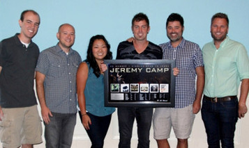 Jeremy Camp | Jeremy Camp Honored For 32 No. 1 Radio Singles | TodaysChristianMusic.com | Christian Daily News | Scoop.it