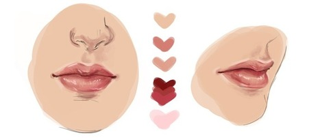Photoshop Tutorial: Making a Realistic Lip in Photoshop | Boîte à outils du web 2.0 | Scoop.it
