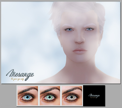MESANGE - Alaska Eyes for MOH8 | 亗 Second Life Freebies Addiction & More 亗 | Scoop.it
