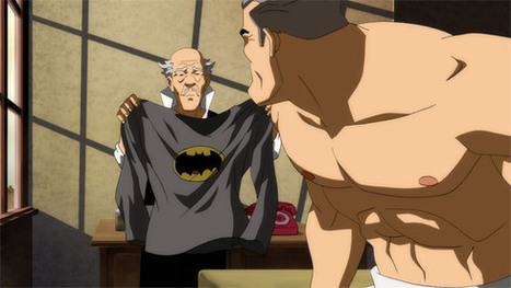 Alfred Gets Snarky In Latest 'The Dark Knight Returns, Pt. 1' Clip [Video] - ComicsAlliance | Animation News | Scoop.it